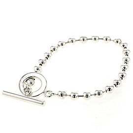 GUCCI 925 silver Ball chain bracelet