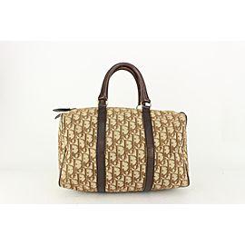 Dior Brown Monogram Trotter Boston Bag 820da85