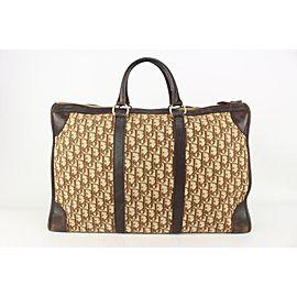 Dior Brown Monogram Trotter Luggage Briefcase Suitcase Duffle 820da94