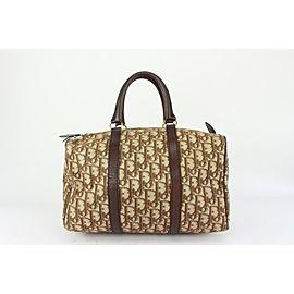 Dior Brown Monogram Trotter Boston Bag 824da41
