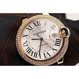 Cartier Ballon 100 42mm Mens Watch