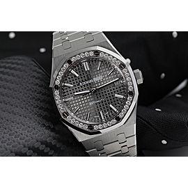 Audemars Piguet Royal Oak Self Winding 37mm Stainless Steel Watch 15451ST.ZZ.1256ST.02
