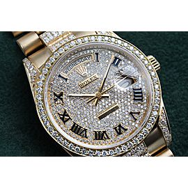 Rolex Diamond 18038 36mm Mens Watch