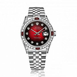 Rolex Diamond 16014 36mm Mens Watch
