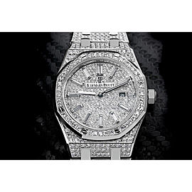 Audemars Piguet Royal Oak Lady Iced Out 67650ST.OO.1261ST.01