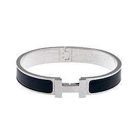 Hermès Navy Blue Clic Clac Bracelet