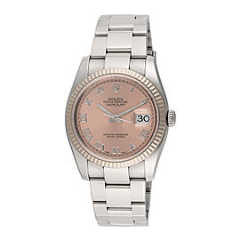 Rolex Datejust 116234 Stainless Steel & 18K White Gold Automatic 36mm Unisex Watch