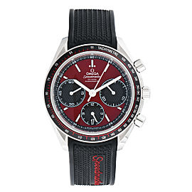 Omega Speedmaster Racing 326.32.40.50.11.001 Automatic Chronograph Red Dial Stainless Steel 40mm Mens Watch