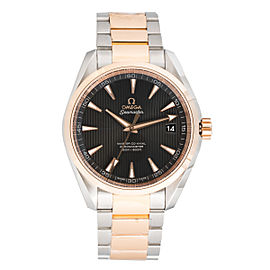 Omega Seamaster Aqua Terra 231.20.42.21.06.003 18K Red Gold And Stainless Steel Auto Grey Dial 41.5mm Mens Watch