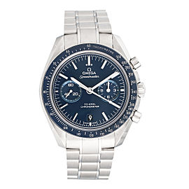 Omega Speedmaster Moonwatch 311.90.44.51.03.001 Co-Axial Blue Dial Titanium Case 44.25mm Mens Watch