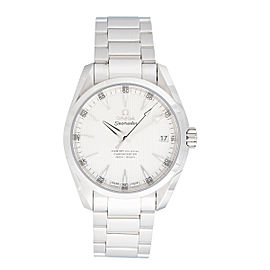 Omega Seamaster Aqua Terra 231.10.39.21.02.002 Silver Dial 38.5mm Mens Watch