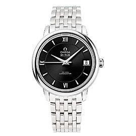 Omega De Ville Prestige 424.10.33.20.01.001 Automatic Black Dial Stainless Steel 32.7mm Womens Watch