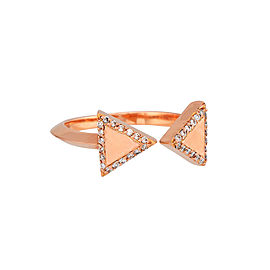 Misahara Unity Two 18k Rose Gold Ring