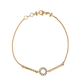Di Modolo 18k Yellow Gold .17 CTW Diamond Eterno Bracelet