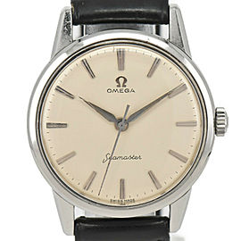 OMEGA Vintage Seamaster Silver Dial Cal.285 Hand Winding Men's Watch