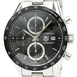 TAG HEUER Stainless steel Carrera Chronograph Watch HK-2031