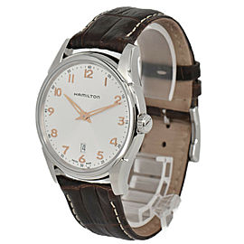 HAMILTON Jazzmaster Thinline H38511513 Silver Dial Quartz Men's Watch