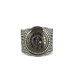 John Hardy 925 Sterling Silver & 18K Yellow Gold 9-Row Round Dot Nuansa Bracelet