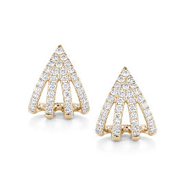 Sarah Leah 14k Yellow Gold Earrings