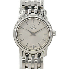 OMEGA de vill prestig Silver Dial Quartz Ladies Watch