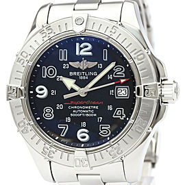 Polished BREITLING Stainless Steel Super Ocean watch HK-2015