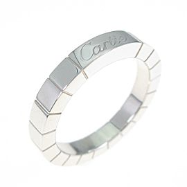 Cartier 18K White Gold Lanieres ring TkM-273