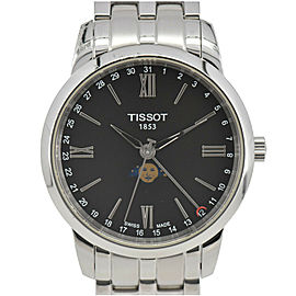 TISSOT Classic Pointer Date Moon Phase T033.423 Black Dial Men's Watch