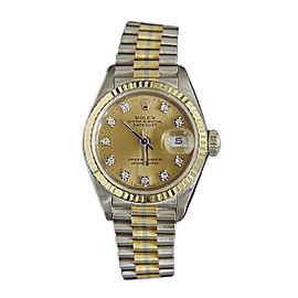 Rolex Datejust 69179B 26mm Womens Watch