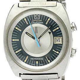 OMEGA Seamaster Memomatic Alarm Cal 980 Steel Watch 166.072