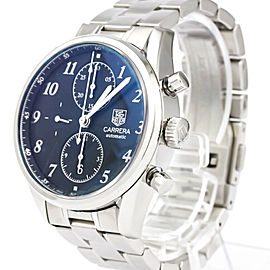 TAG HEUER Carrera Heritage Calibre 16 Steel Mens Watch CAS2110