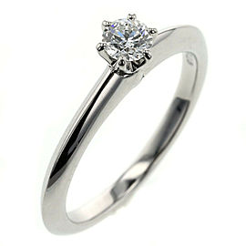 TIFFANY & Co. Platinum/diamond Solitaire Ring