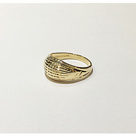 Tiffany & Co. 14K Yellow Gold Vintage Ring Size 3.5