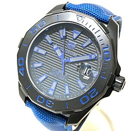 TAG HEUER WAY208B Aqua racer titanium / Nylon belt caliber 5 Wrist watch