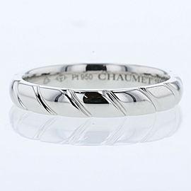 Chaumet Platinum Torsard Ring EU59 TBRK-353
