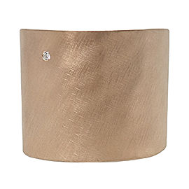 Julez Bryant 14K Rose Gold Diamond Cuff Bracelet