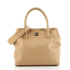 Chanel North South Cerf Executive Tote Leather Large