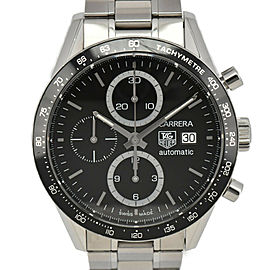 TAG HEUER Carrera CV2010-3 Chronograph black Dial Automatic Men's Watch