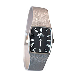 Jaeger LeCoultre 14K White Gold 31mm Watch