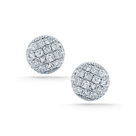White Gold Lauren Joy Pave Mini Earrings