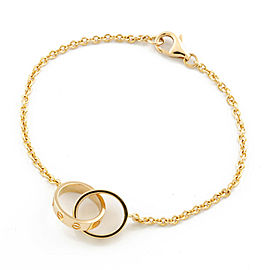 CARTIER 18K Gold Baby love from Bracelet CHAT-253