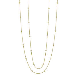Penny Preville 18K Rose Gold with 1.0 ct. Diamond Eyeglass Chain Necklace