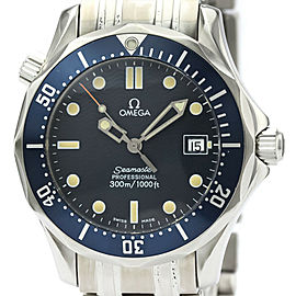 Polished OMEGA Seamaster Professional 300M Steel Mid Size Watch 2561.80