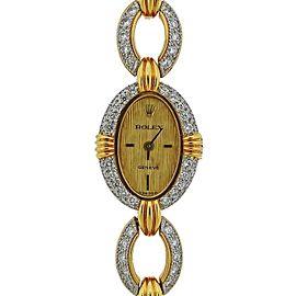 Rolex Gold Diamond Watch Bracelet