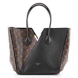 Louis Vuitton Kimono Handbag Monogram Canvas and Leather MM