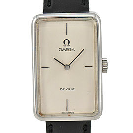 OMEGA Deville Stainless/Leather Cal.620 Hand-winding Women's Watch
