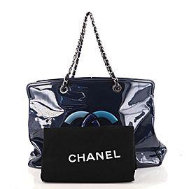 Chanel Lipstick Tote Patent Vinyl XL