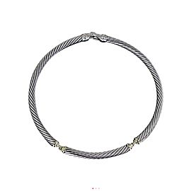 David Yurman 14K Yellow Gold & Sterling Silver Choker Necklace