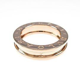 BVLGARI 18K Pink Gold B.zero1 1 Band Ring