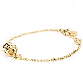 BVLGARI 18K Yellow Gold B-zero1 Element Bracelet