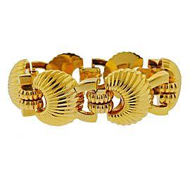 1980s Gold Link Bracelet